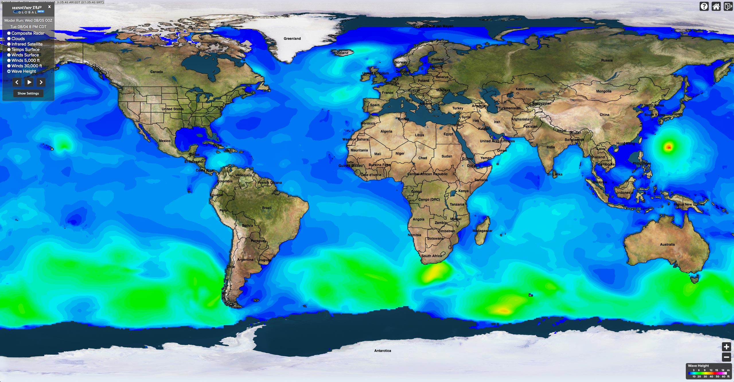 Weathertap global data click for a full size sample of weathertaps global weather imagery gumiabroncs Image collections